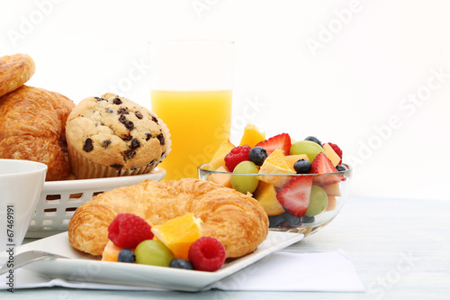 Staande foto Assortiment breakfast