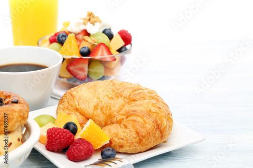 Fotobehang Assortiment breakfast
