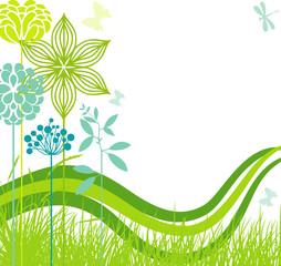 Decoeative meadow