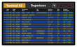 Airport departure board - 67470558