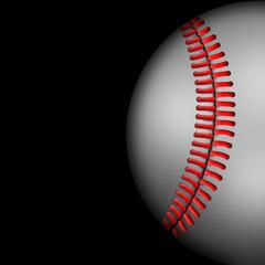 Dark Background of Baseball