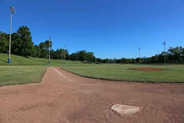 Left Line Ball Field