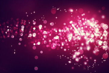 Magenta colored abstract light background