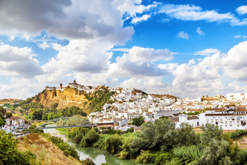 Arcos de la Frontera, beautiful town located in Cadiz.