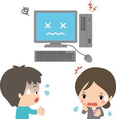 パソコンの故障・トラブル