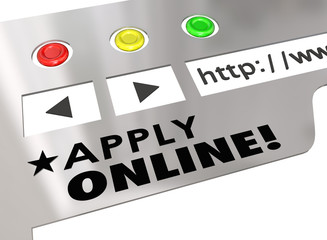 Apply Online Website Internet Browser Application Form