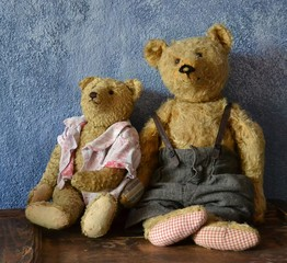 alte Teddybären