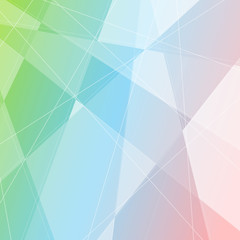 Crystal structure gradient halftone background