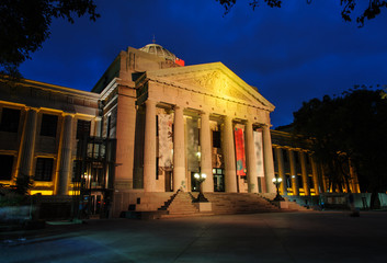 National Taiwan Museum at night