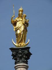La Mariensäule a Monaco di Baviera