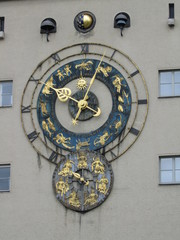 L'orologio del Deutsches Museum a Monaco