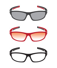 Vector group of an sunglasses