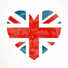 Vector Illustration of the United Kingdom Flag