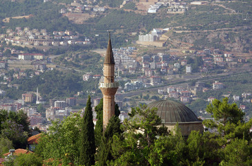 Suleymaniye Mosque in Alanya, Turkey