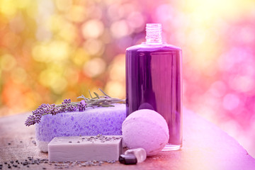 Spa concept (Spa treatment - Aromatherapy)