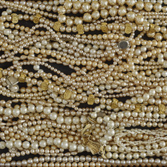 pearls closeup, precious background