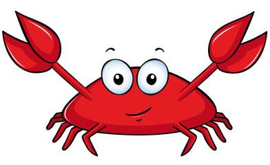 lustige Krabbe