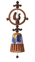 Декоративный колокольчик для интерьера, сувенир.
