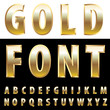gold letters one