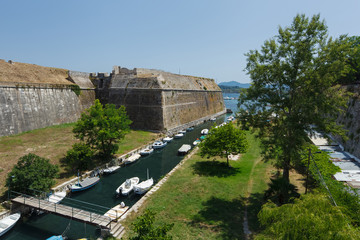 Old Fortress at Corfu, Greece