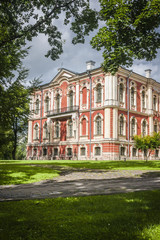 palace built by famous architect Rastrelli