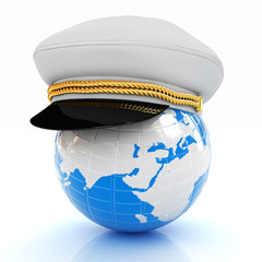 Marine cap on Earth