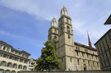 Wahrzeichen in Zürich: Das Grossmünster