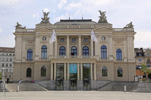 canvas print picture Opernhaus Zürich