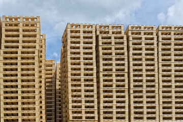 Pallets stacks