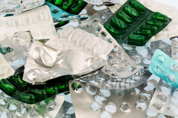Tabletten in Blisterpackung