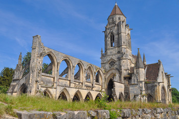 Ruins of Caen Abbey