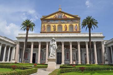 San Paolo Fuori Le Mura church in Rome