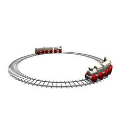 Speelgoed trein wedstrijd