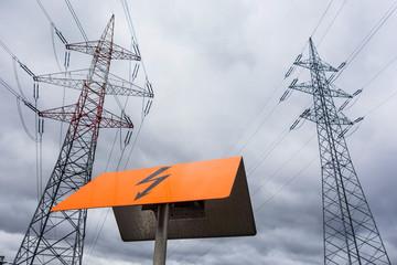 Stromasten einer Stromleitung
