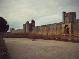 Aigues-Mortes, città fortificata in Francia