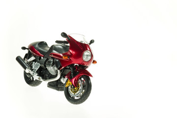 Realistic Toy Motorcycle