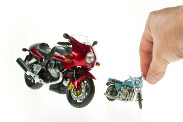 Realistic Toy Motorcycles