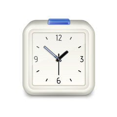 Square alarm clock icon