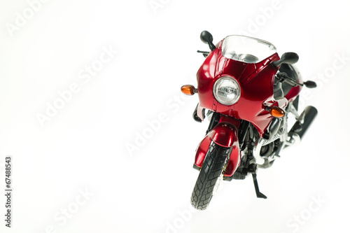 Realistic Toy Motorcycle - 67488543