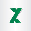 letter z abstract icon design