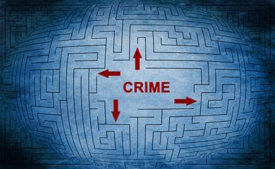 Crime maze concept