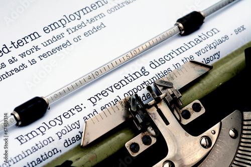 Employers preventing discrimination