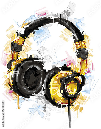 Yellow Headphones © christophkadur