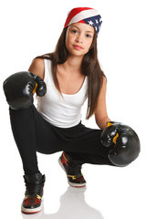 Boxing Fitness-good for girls