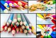 Collection of colour pencil