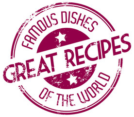 famous dishes of the world
