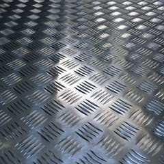 Background of corrugated surfac metal texture