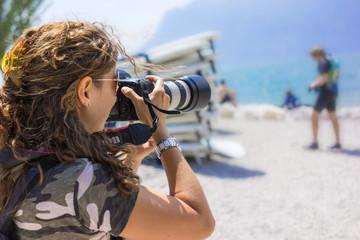 Fotografare windsurf