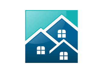 real estate group investment home logo