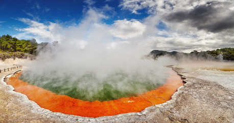 Champagne Pool, Waiotapu, New Zealand